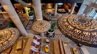 The best Toronto hotels for a staycation | Lobby at Hotel X