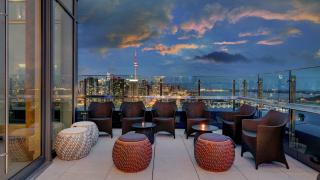 The best Toronto hotels for a staycation | Rooftop terrace at Hotel X