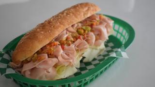 The best sandwiches in Toronto | Mortadella sandwich at Lambo's Deli & Grocery