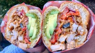 The best sandwiches in Toronto | Chicken avocado pesto special sandwich from Grandma Loves You