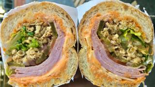 The best sandwiches in Toronto | Spicy ham sandwich from Grandma Loves You