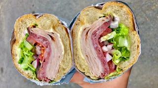 The best sandwiches in Toronto | Cold cuts and cheese sandwich from Grandma Loves You