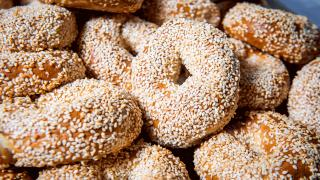 Toronto home cooks and their online food businesses | A stack of fresh Sherm's Bagels