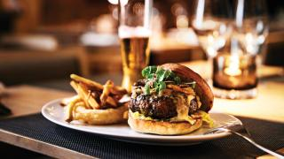Mark McEwan | My Toronto | a burger at Bymark