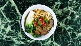 Trinity Bellwoods neighbourhood guide   A noodle bowl at Mahjong Bar