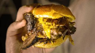 The best new restaurants in Toronto   A dripping beef brisket sandwich from Camp Smokehouse