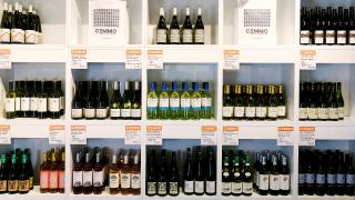 The best new restaurants in Toronto   The wine wall at CoMMO Kitchen