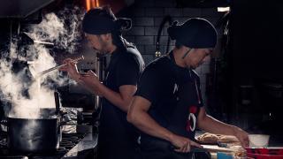 The best new restaurants in Toronto   Chefs cook steaming hot ramen at Midori