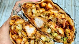The best new restaurants in Toronto   CBR (chicken, bacon, ranch) burrito at Man vs Fries