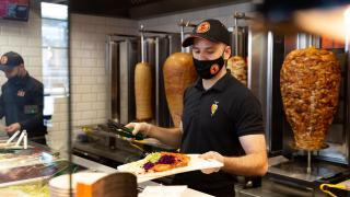 The best new restaurants in Toronto   Staff serve German Doner Kebabs