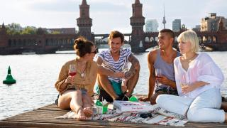 Wines of Germany   Summer wine drinking in Germany
