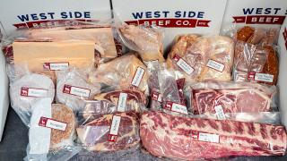 Father's Day dinners and Father's Day gifts   West Side Beef's King of the Grill Box