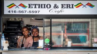 The best Toronto food markets | Ethio & Eri Cafe serves authentic Ethiopian and Eritrean dishes at Market 707