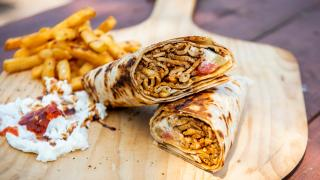The best Toronto food markets | Chicken shawarma from Chef Harwash at Market 707