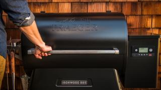 A Traeger grill