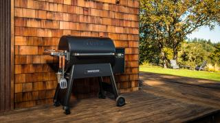 Traeger grills come with convenient features