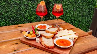 The best patios in Toronto | Aperol spritzes and charcuterie at Il Patio di Eataly with Aperol