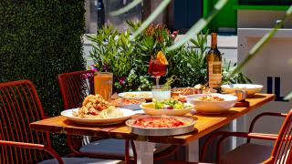 The best patios in Toronto | Il Patio di Eataly with Aperol