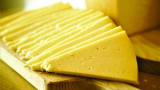 Azorean cheese from Portugal's Azores islands   Slices of Azorean cheese