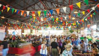 The freshest farmers' markets in Toronto | People shop at the Brickworks Farmers' Market