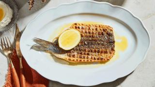 Restaurant Review: Toronto Beach Club | Grilled branzino