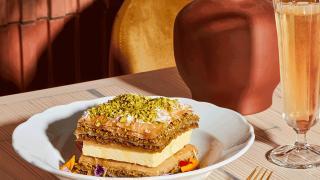 Restaurant Review: Toronto Beach Club | Baklava pastry