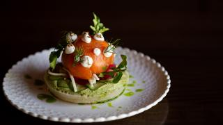 Restaurant Review: The Rabbit Hole in downtown Toronto   Smoked Salmon