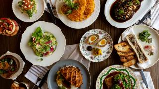 Restaurant Review: The Rabbit Hole in downtown Toronto   A spread of British dishes at The Rabbit Hole