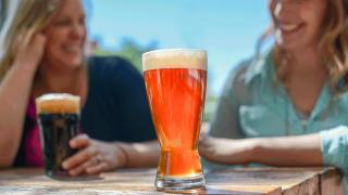 Celebrate International Beer Day with American craft beer   Friends drinking pints