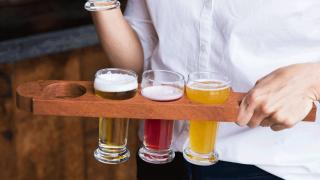 Celebrate International Beer Day with American craft beer   A tasting flight