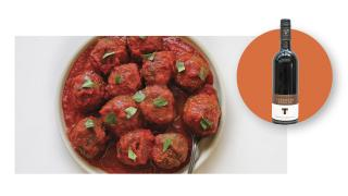The Bottle Shop at Fresh City Farms | The Healthy Butcher's ready-to-heat Meatballs in Marinara and Tawse Winery's Cabernet Merlot