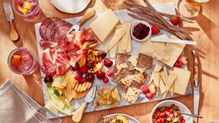Black River Cheese | A cheese board featuring Black River Cheese