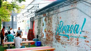 The best new restaurants in Toronto for summer 2021 | The patio at Brasa Peruvian Kitchen