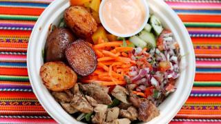 The best new restaurants in Toronto for summer 2021 | A Hot Brasa Chicken bowl from Brasa Peruvian Kitchen