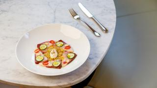 Restaurant review: Vela Toronto   A plate of crudo
