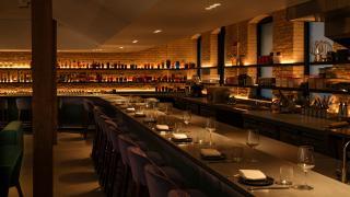 Restaurant review: Vela Toronto   The bar top at night