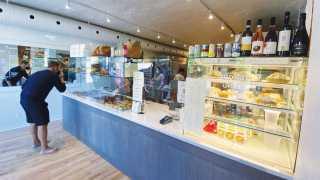 Inside Emmer and Ash bakery on Harbord Street