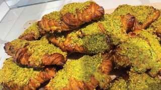 Emmer and Ash bakery on Harbord Street   Pistachio croissant