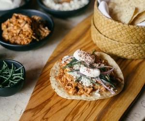 Make This: El Rey's Chicken Tinga Tostadas