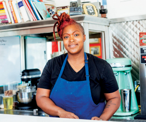 Suzanne Barr, co-owner and chef at True True Diner