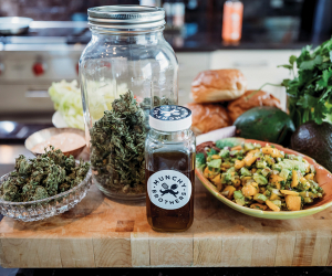 THC-infused edibles