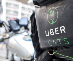 Uber Eats waives delivery fee