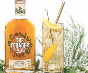 The Forager Botanical Whisky cocktail recipe
