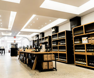 Downtown Winery Toronto | Inside the bottle shop