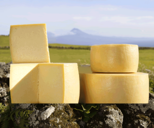 Azorean cheese from Portugal's Azores islands.