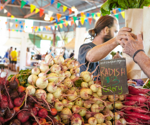 The freshest farmers' markets in Toronto | Radishes and other fresh produce at the Brickworks Farmers' Market