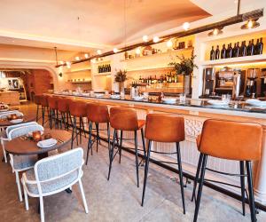 Restaurant review: Azhar Kitchen & Bar on Ossington | Indoor dining at Azhar