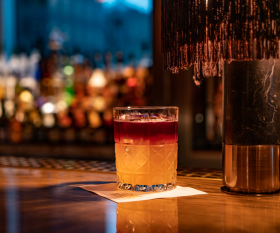 New York Sour whiskey and red wine recipe