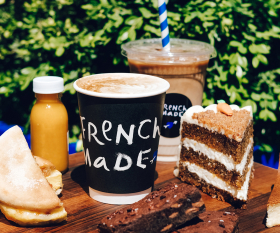 French Made Delivery Review | coffee and cake