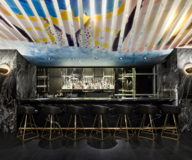 The Bisha Hotel Toronto | The bar inside Akira Back Japanese restaurant